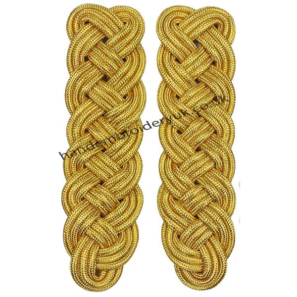 World War Two German Officer Military Gold Wire Shoulder Board
