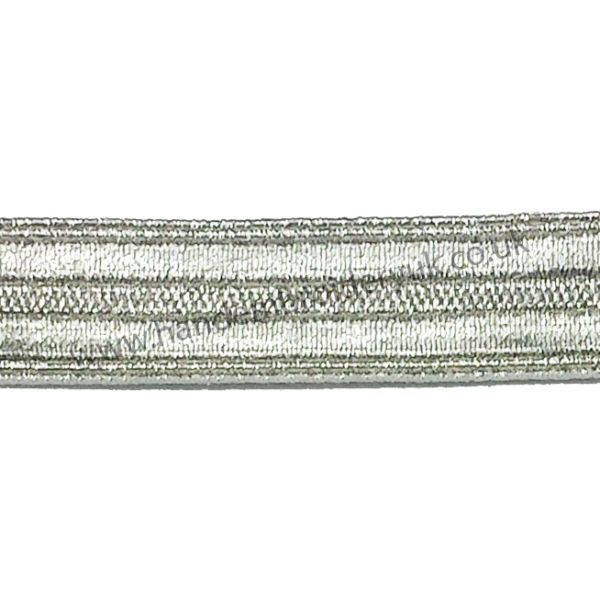Silver Braid 12 mm for Army, Military, Uniform, Costume, Fancy Dresses
