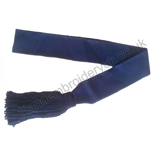 Shoulder Sash in Navy Blue
