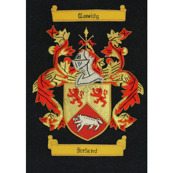 Cussidy Family Crest