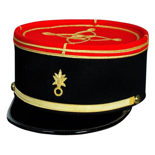 French Military Kepi, France Army Embroidery Cap