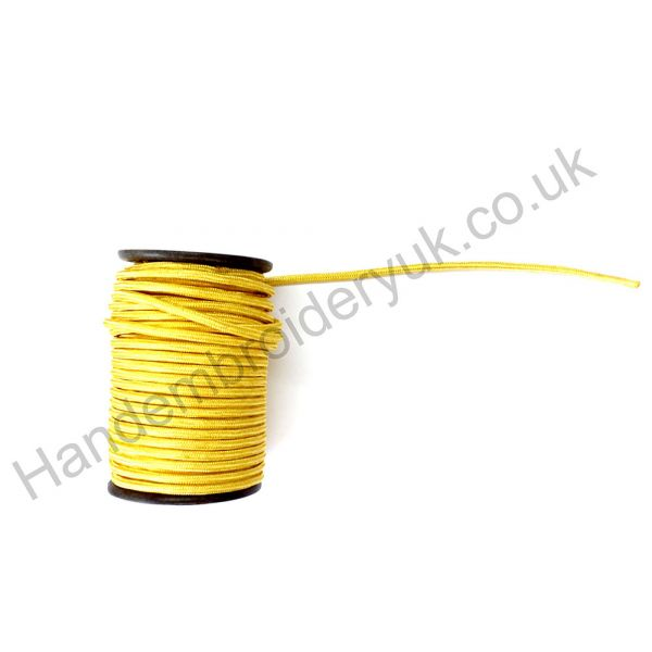 Gold Wire Cord 15mm Round
