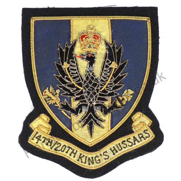 Kings Hussar Badge