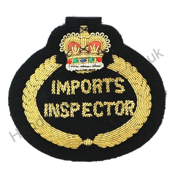 Imports Inspector Badge