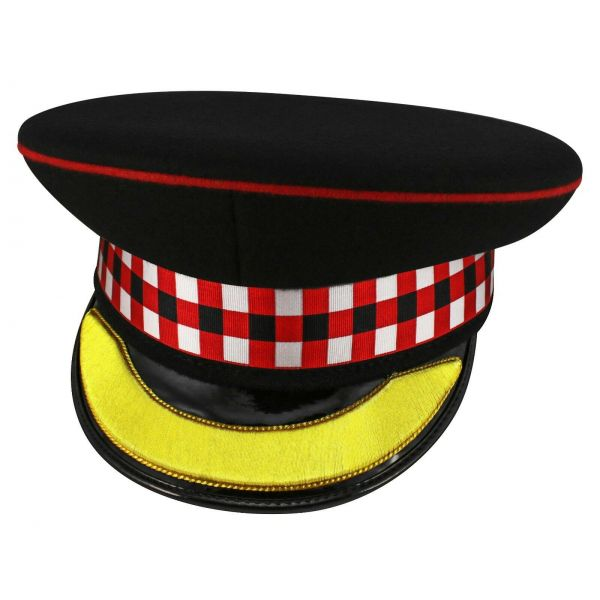Peaked Cap Scottish Hat Headgear