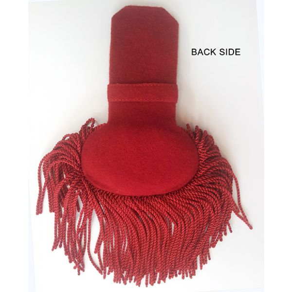 Red Silk Epaulettes (pair)