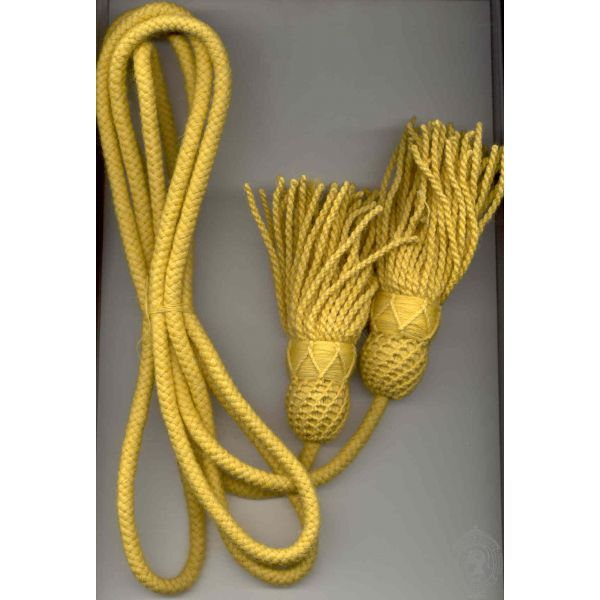Yellow Tassel With Cord:
