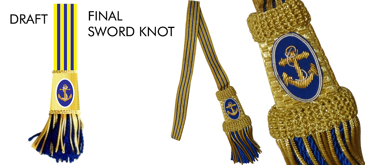 lord nelson sword knot banner